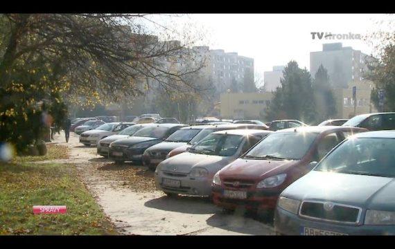 V Sásovej stavajú nové parkovisko