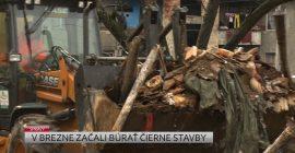 V Brezne začali búrať čierne stavby