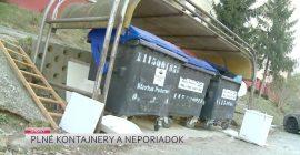 Plné kontajnery a neporiadok